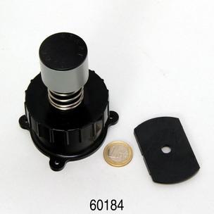 CP e15,-1900,-1 Startknopf+Überwurfmutter