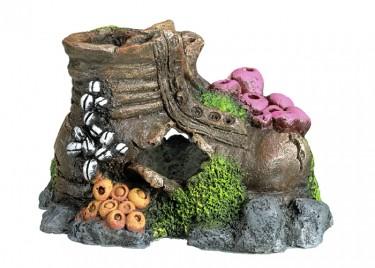 Akvárium dísz Cipő