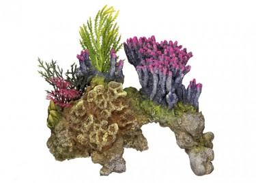 Akvárium dísz Korall kő
