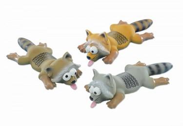 Kutyajáték gumiból Mosómedve
