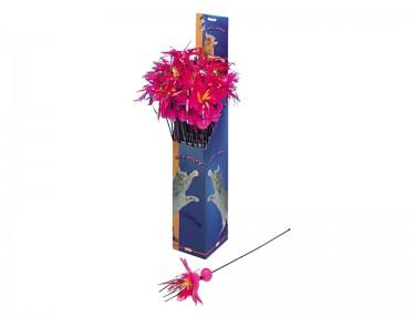 Macskapálca lila tollal
