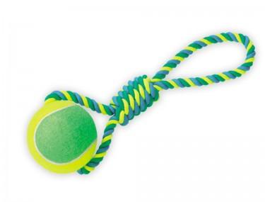 Teniszlabda kötéllel