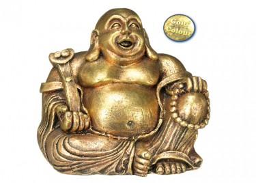 akváriumi dekor buddha arany 2