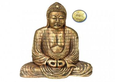 akváriumi dekor buddha arany