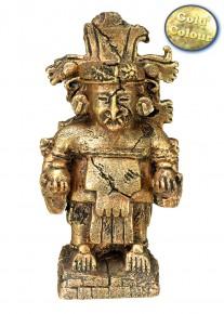 akváriumi dekor maya istenség