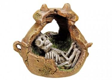 akváriumi dekor maya temetkezési urna